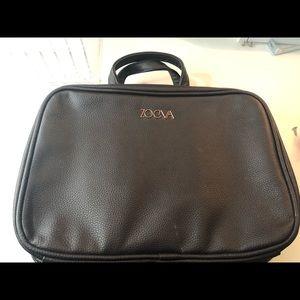 Zoeva rose gold brush/ makeup holder case